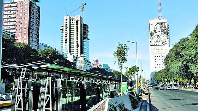 Nuevo recorrido de los colectivos por el Metrobus