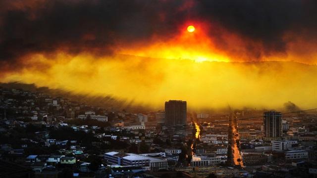 Chile le pide ayuda a la Argentina por el incendio