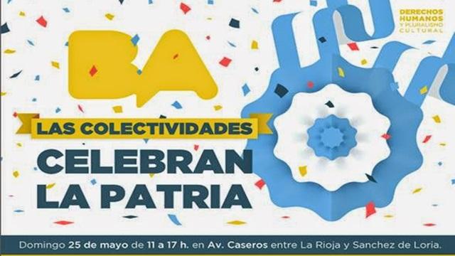 Parque Patricios celebra el día de la Patria