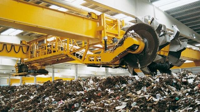 planta de residuos