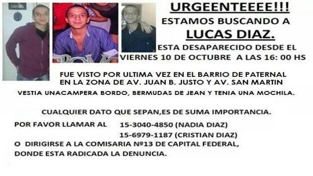#buscamosalucas