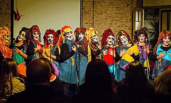 El arte de la murga Baila la chola