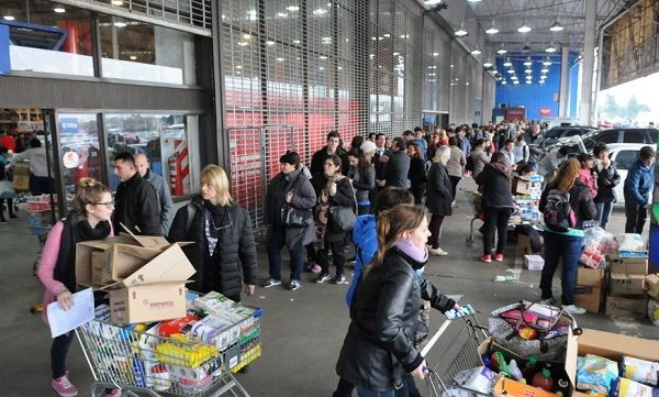 Caos por descuentos en supermercados