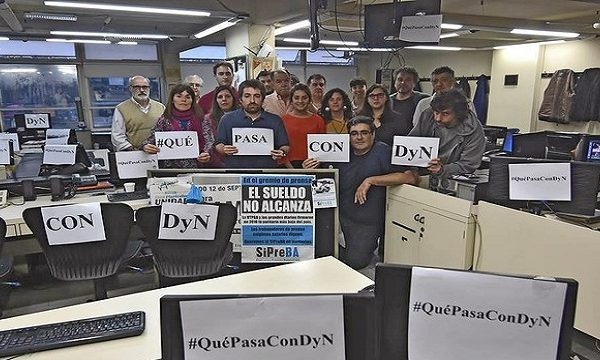 Trabajadores de DyN buscan resolver su situación ante los recientes despidos