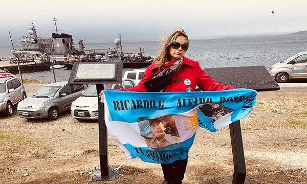 Emotivo homenaje a los  44 Tripulantes del ARA San Juan en Usuhaia