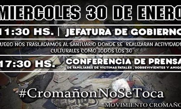 Nueva movilización por Cromañon