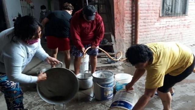 Villa 31 sin agua